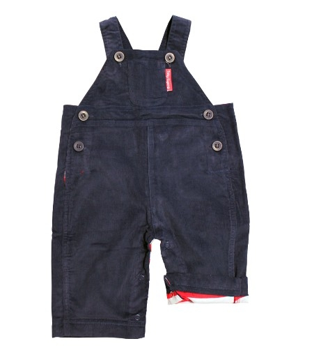 Toby Tiger dungaree rib Navy