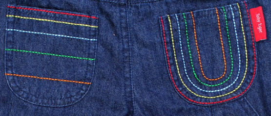 Toby Tiger jeans details achterkant