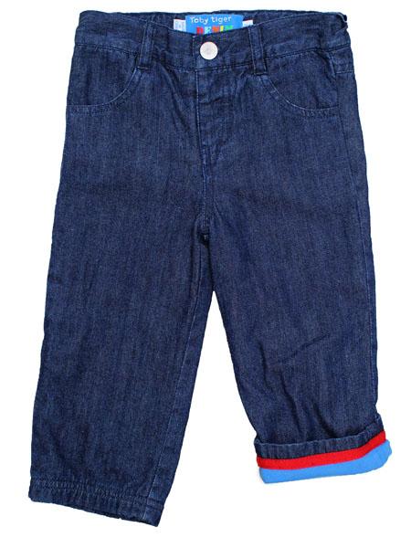 Toby Tiger jeans voorkant maat 98 t/m 116