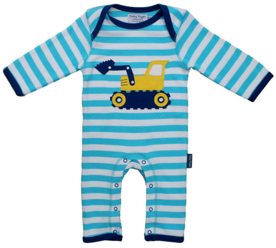Toby Tiger jumpsuit graafmachine – 56
