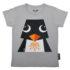 Coq en Pate t-shirt Pinquin voorkant