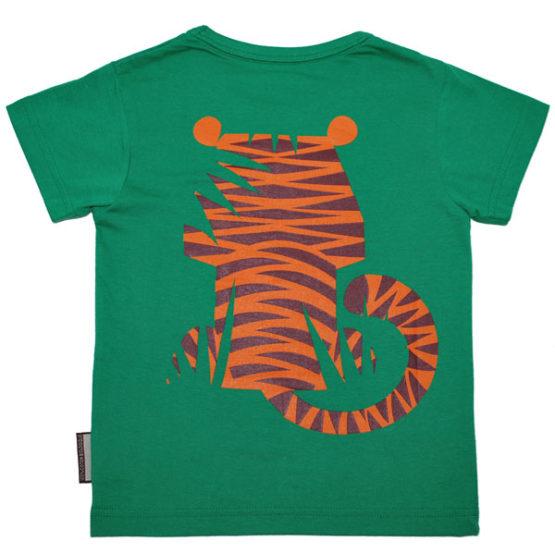 Coq en Pate t-shirt Tijger achterzijde