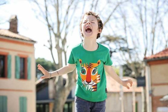 Coq en Pâte t-shirt tijger -12338