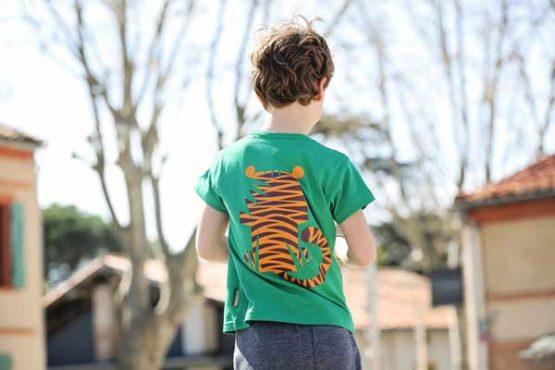 Coq en Pâte t-shirt tijger -12339