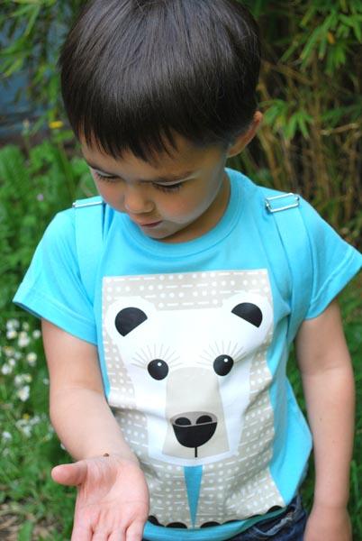 Coq en Pate t-shirt ijsbeer sfeer II