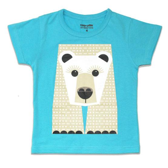 Coq enPate t-shirt ijsbeer achterkant