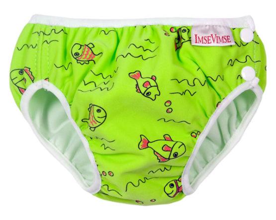 ImseVimse zwemluier Groene Vis – L (9-12 kg)