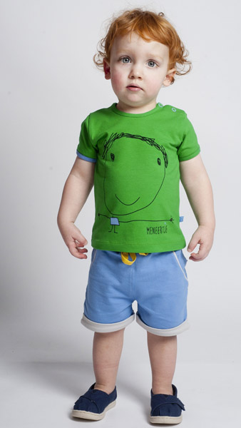 Mevrouwtje*Meneertje Shirt Nanette groen sfeer