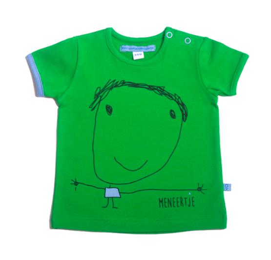 M*M Meneertje Shirt Nanette groen