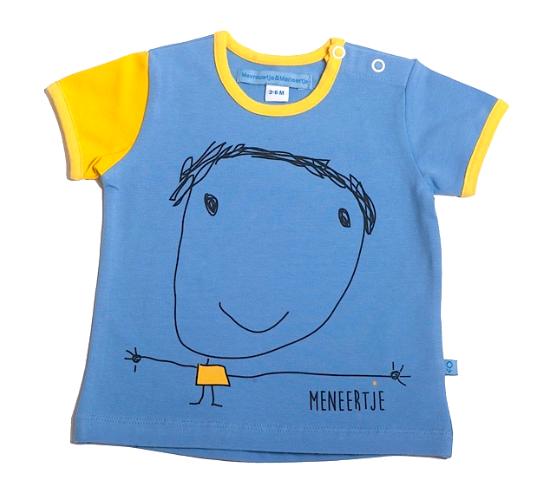 M*M Meneertje Shirt Nanette lichtblauw