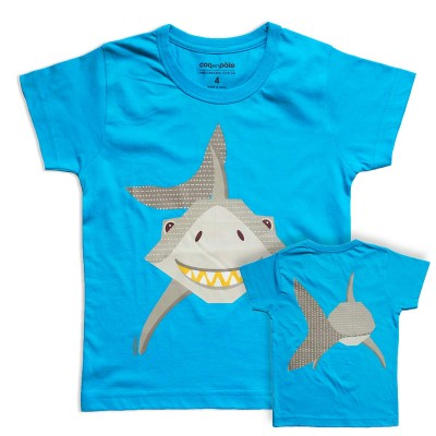 Coq en Pâte t-shirt haai – 74