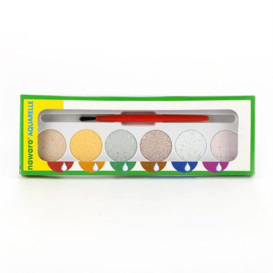 Oekonorm Waterverf 6 kleuren-9373