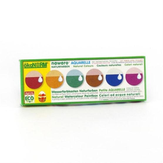 Oekonorm Waterverf 6 kleuren