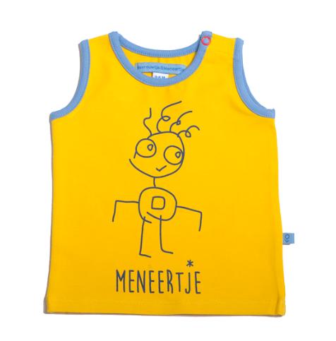 M*M Meneertje Marcelleke Meike tanktop citroen – 3-6 maand