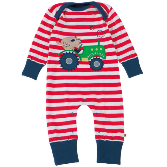 Piccalilly jumpsuit Tractor Biggetje