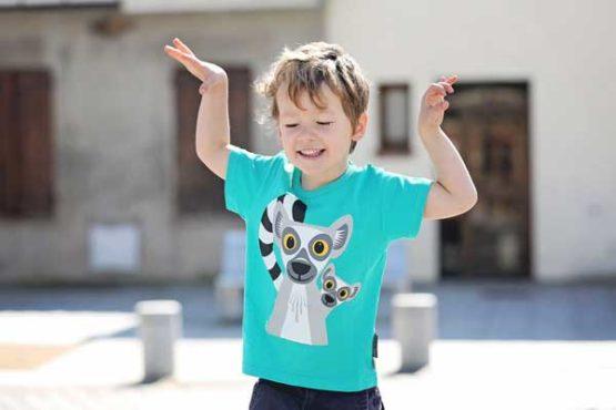 Coq en Pâte t-shirt Lemur-12335
