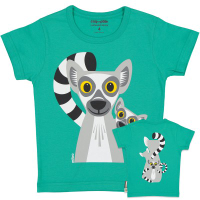 Coq en Pâte t-shirt Lemur – 116