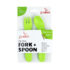 JJ Rabbit ergo Fork + Spoon groen
