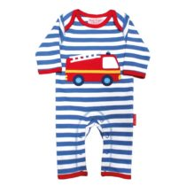 Toby Tiger jumpsuit Fire Engine