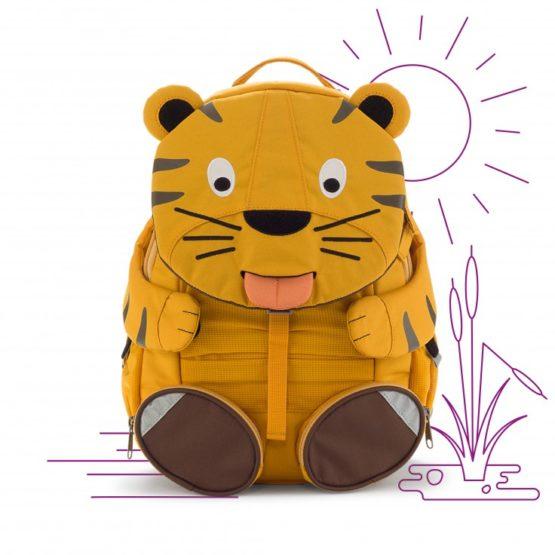 Affenzahn rugzak Big Friends – Theo Tiger
