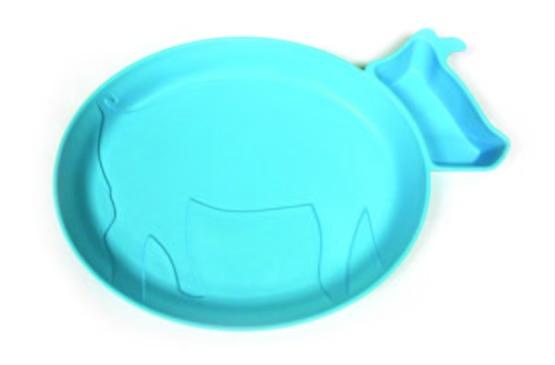 JJ Rabbit dipPLATE Koe blauw