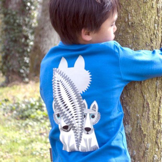 Coq en Pâte longsleeve Wolf-7906
