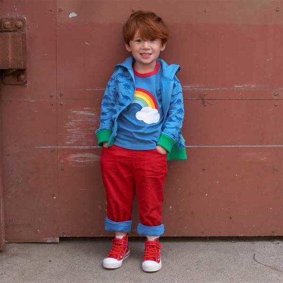 Toby Tiger hoodie Dino - 80, 92-10974