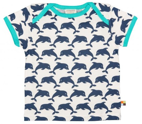Loud + Proud t-shirt Dolfijn
