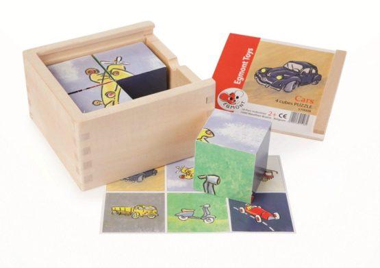 Egmont Toys blokpuzzel Auto