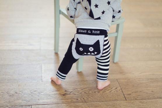 Blade & Rose sokken Crazy Cat-10274