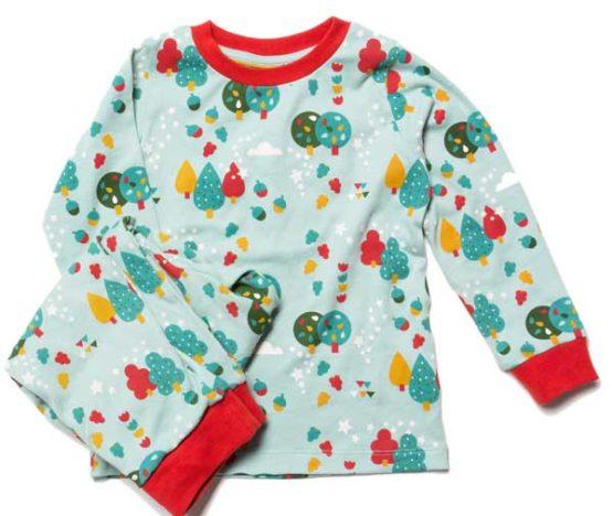 Little Green Radicals pyjama Vallende Blaadjes – 110