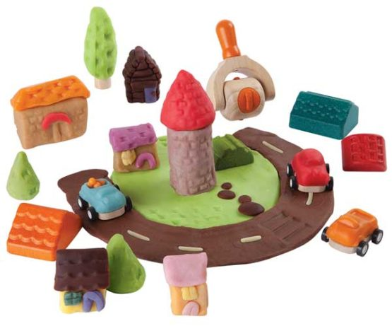 Plan Toys Deegset - Bouw je stad-11036