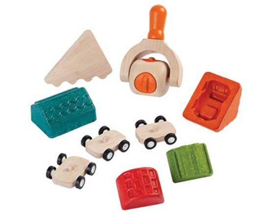 Plan Toys Deegset – Bouw je stad