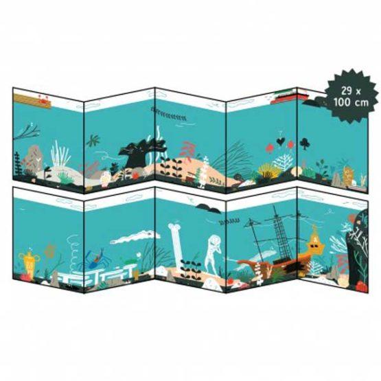 Makii Turbo grote Stickerplaat Onder Water-11544