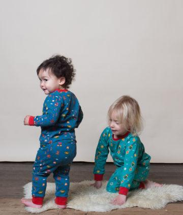 Little Green Radicals pyjama Norse Forest