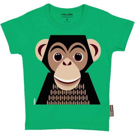 Coq en Pâte t-shirt Chimpansee