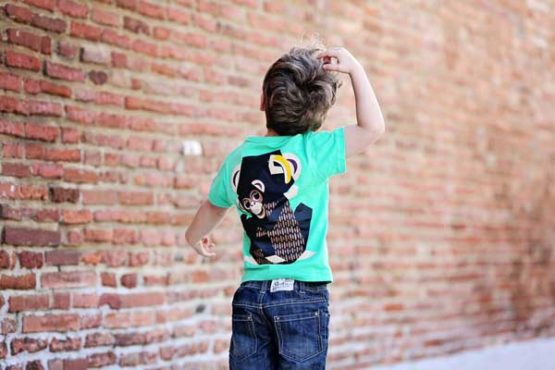 Coq en Pâte t-shirt Chimpansee -12325