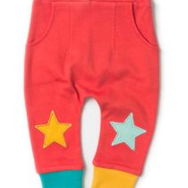 Little Green Radicals broek Red Star Jogger-0