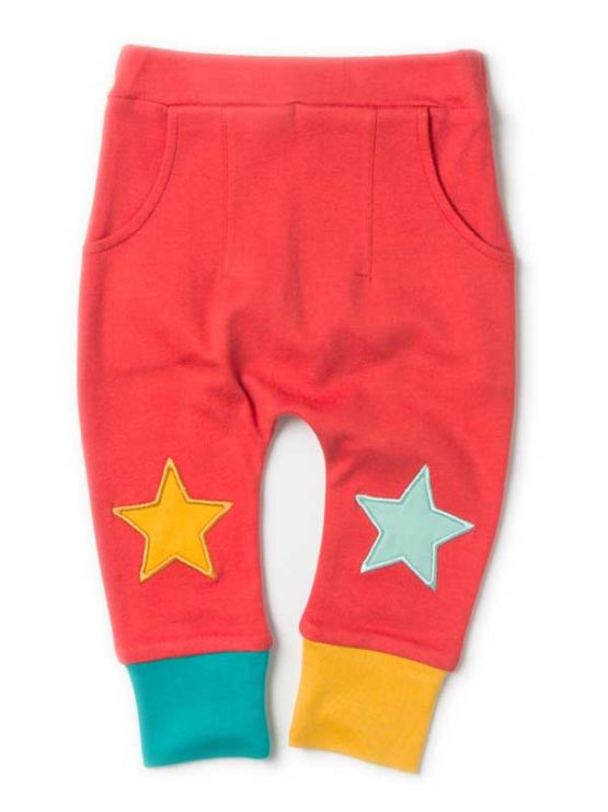 Little Green Radicals broek Red Star Jogger