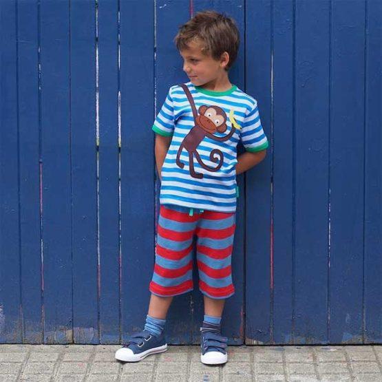Toby Tiger short BlauwRood-12634