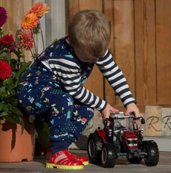 Piccalilly playsuit Farming-12548