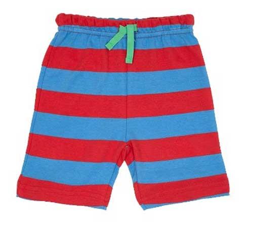 Toby Tiger short blauw/rood