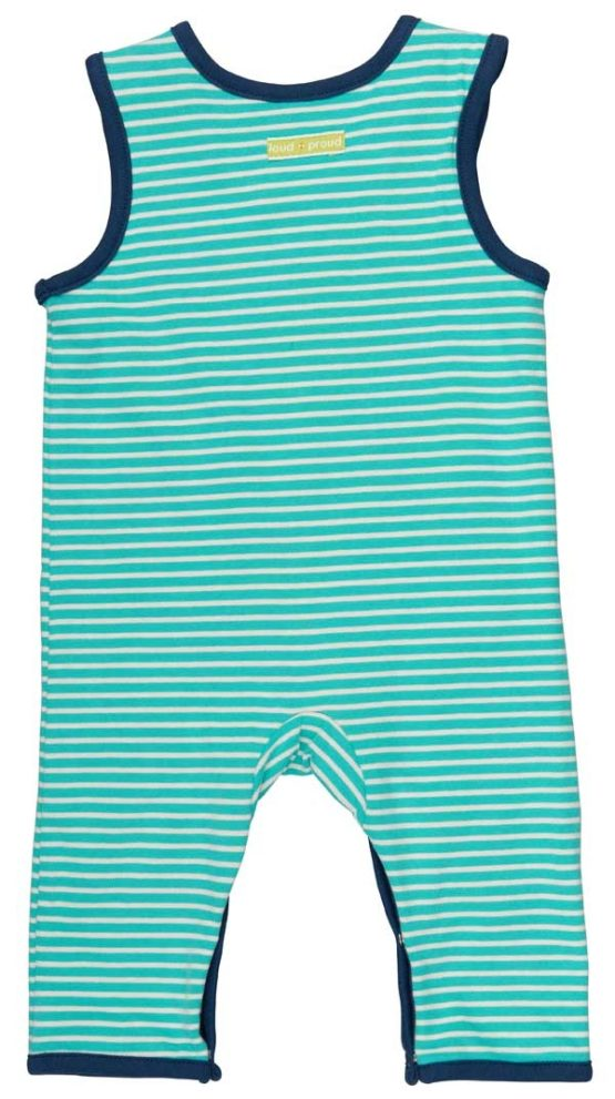 Loud + Proud dungaree Dolfijn reversible -13491
