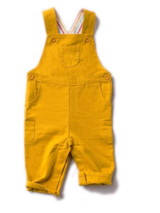 Little Green Radicals Gold Classic Dungaree – 74