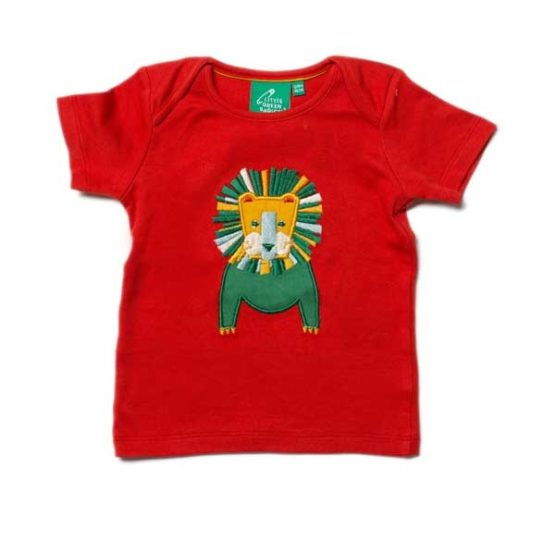 Little Green Radicals t-shirt Leo Lion – 68