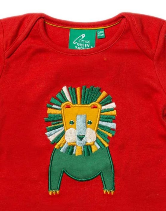 Little Green Radicals Leo Lion T-shirt-14588
