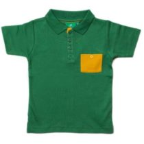 Little Green Radicals Jungle Green Sunshine Polo-0