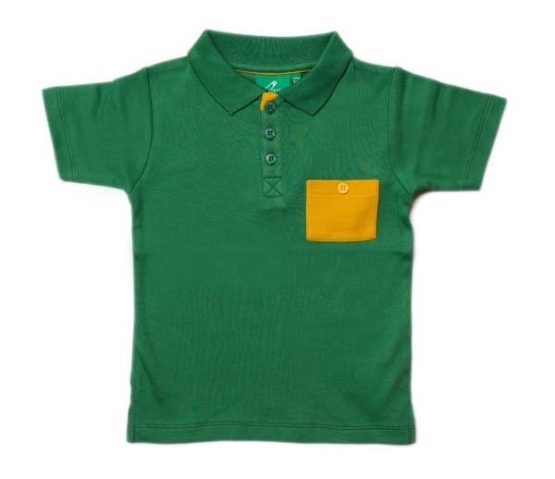 Little Green Radicals Jungle Green Sunshine Polo