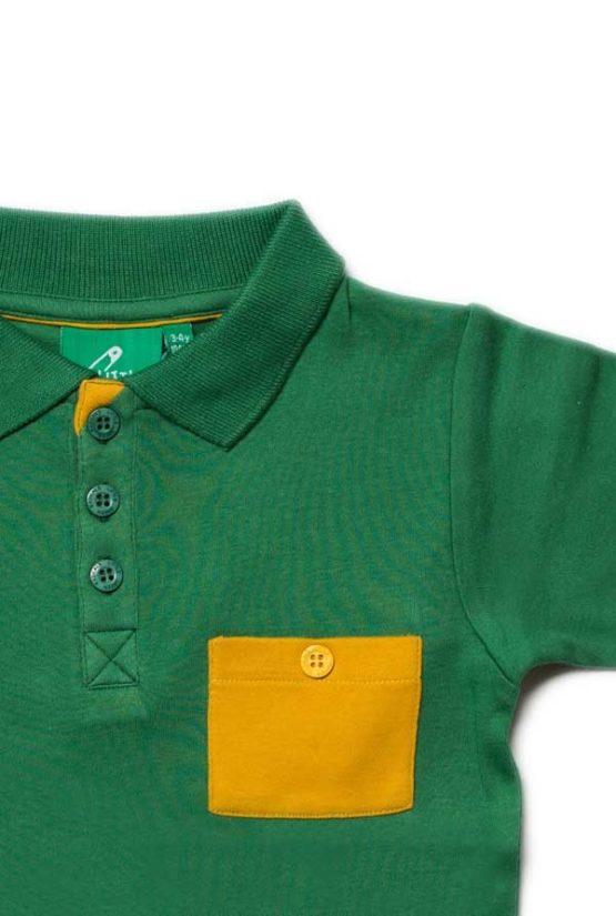 Little Green Radicals Jungle Green Sunshine Polo-14508