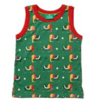 Little Green Radicals Starry Eyed Elephant Tanktop-0